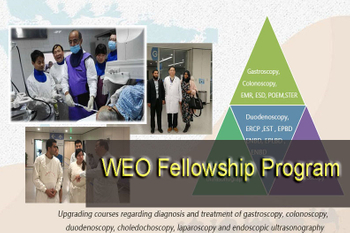 The first ERCP training base of WEO established in JIANGSU PROVINCE HOSPITAL